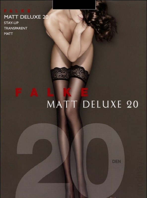 FALKE MATT DELUXE 20 STAY-UP