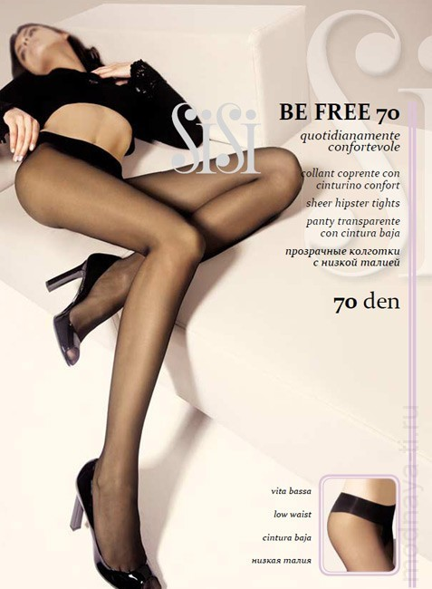 Tights SISI BE FREE 70 VITA BASSA