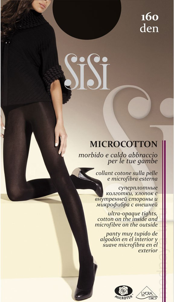 Tights SISI MICROCOTTON 160