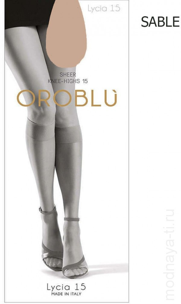 Knee-highs OROBLU MI BAS LUCIA 15