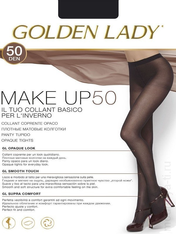Tights GOLDEN LADY MAKE UP 50