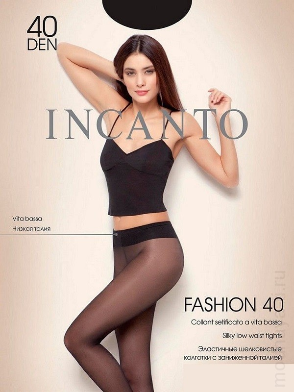 Tights INCANTO FASHION 40 VITA BASSA
