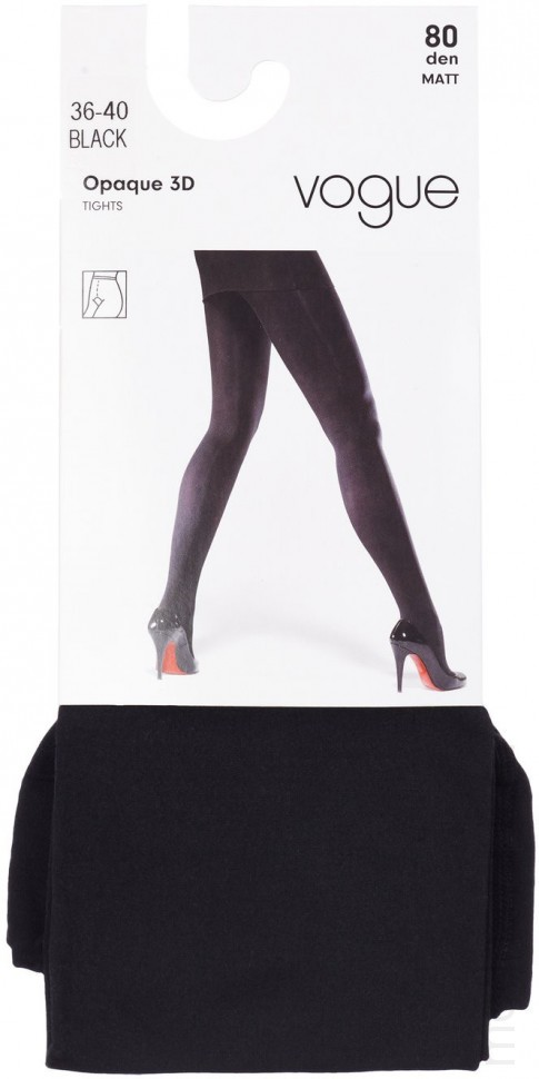 Tights VOGUE OPAQUE 80 3D (95841)
