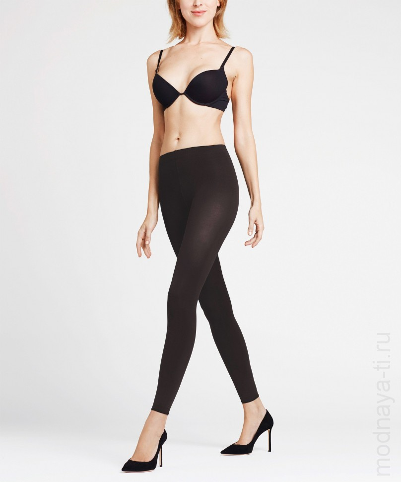 Леггинсы FALKE 40111 PURE MATT 100 LEGGINGS