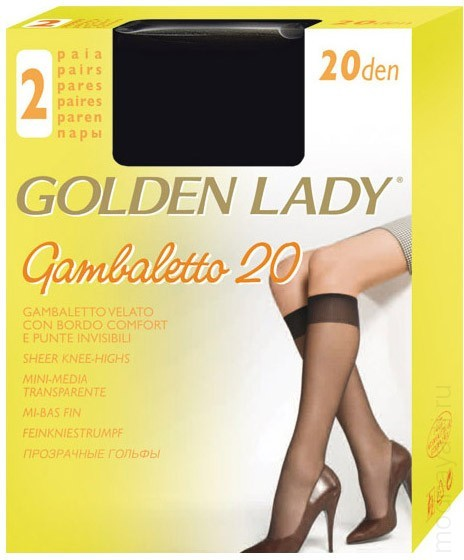Гольфы GOLDEN LADY GAMBALETTO FILANCO 20