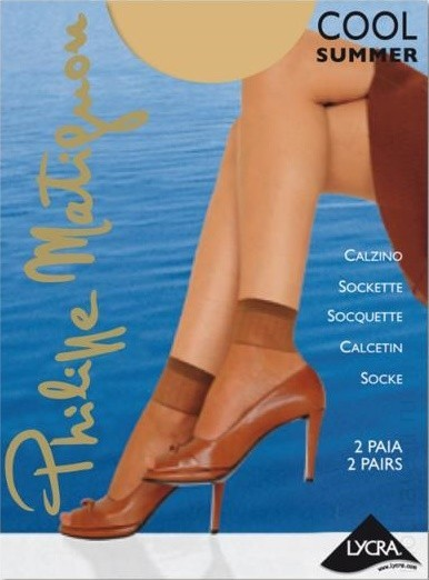 Носочки PHILIPPE MATIGNON COOL SUMMER 8 CALZINO (2 пары)