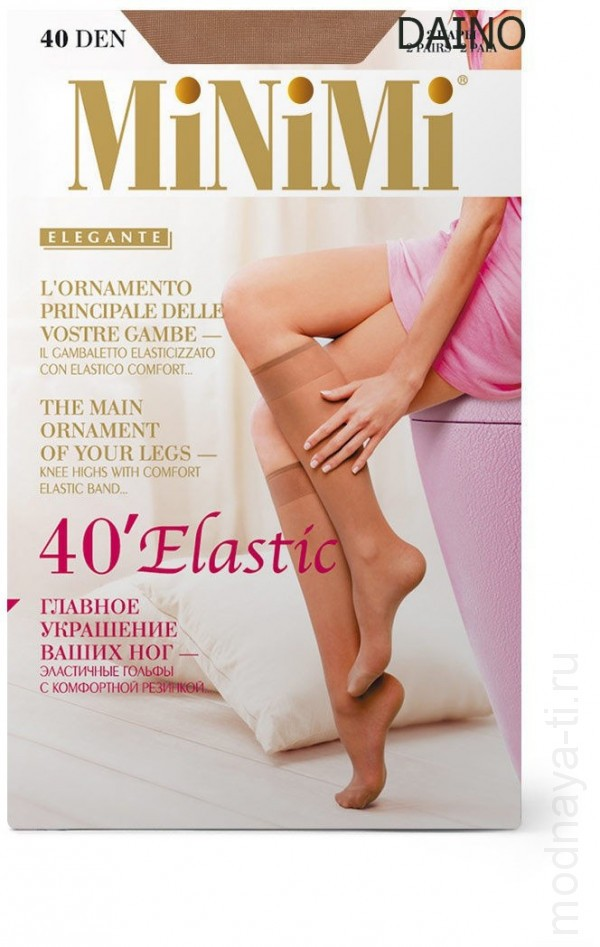 Knee-highs MiNiMi ELASTIC 40 GAMBALETTO