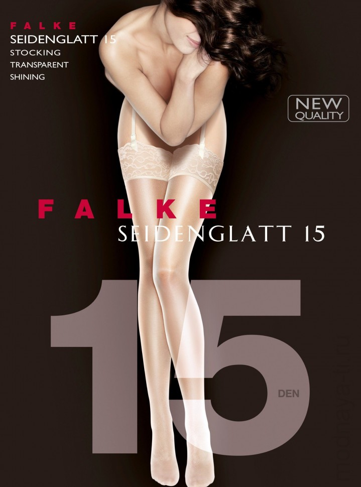 Чулки FALKE 41519 SEIDENGLATT 15 stocking