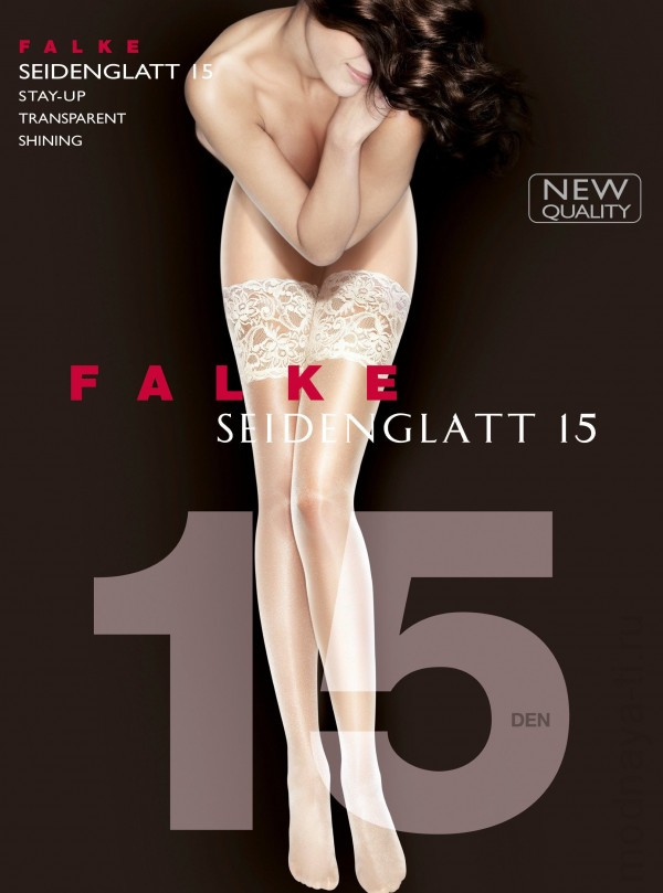 Чулки FALKE 41590 SEIDENGLATT 15 stay-up