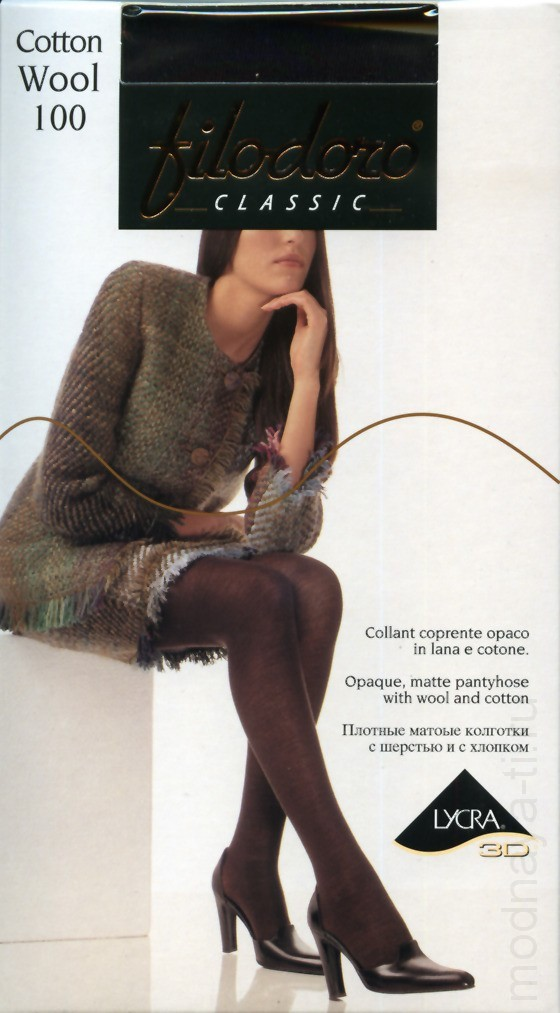 FILODORO CLASSIC COTTON WOOL 100 tights