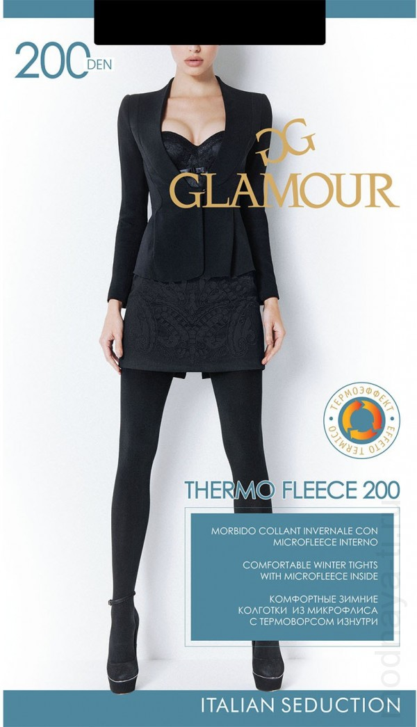 Колготки GLAMOUR THERMO FLEECE 200