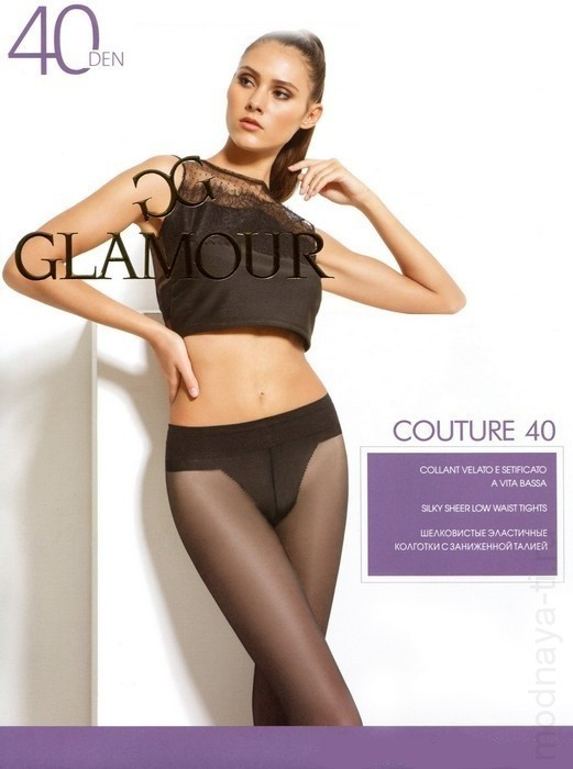 Tights GLAMOR COUTURE 40 VITA BASSA