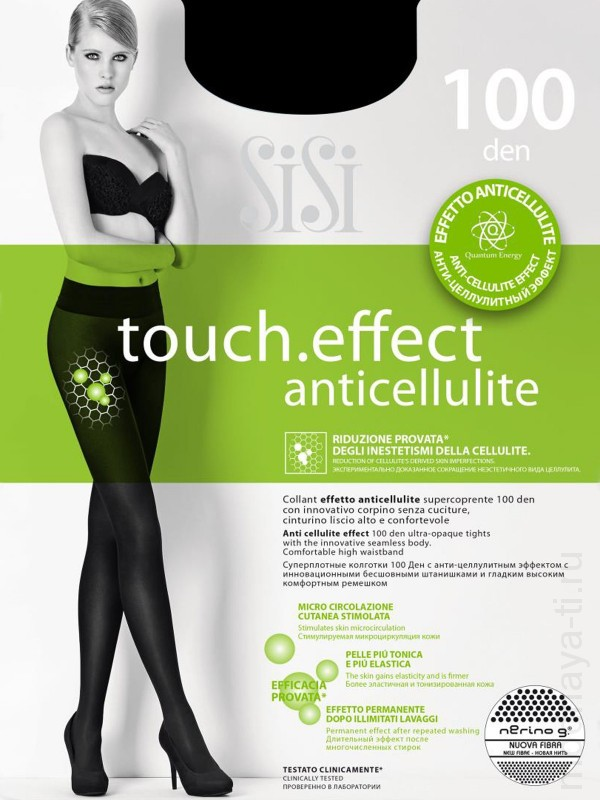 Tights SISI TOUCH.EFFECT 100 anticellulite