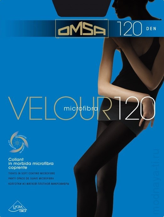 Tights OMSA VELOR 120