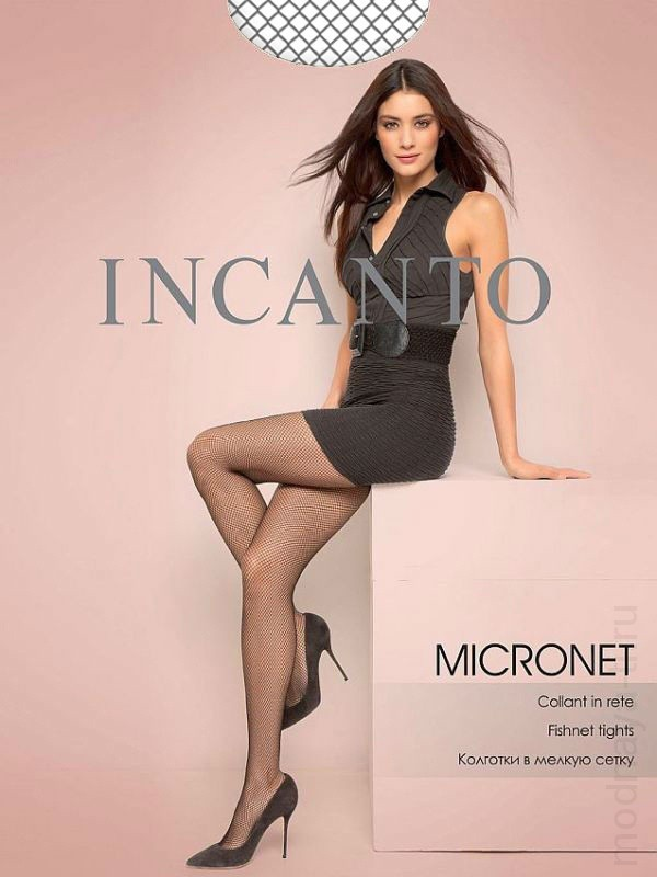 INCANTO MICRONET fishnet tights