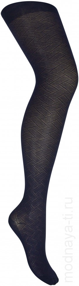 Children's tights Lukomorye Pletenka (Blue)