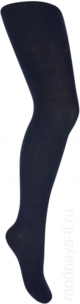 Children's tights Lukomorye monophonic (Blue)