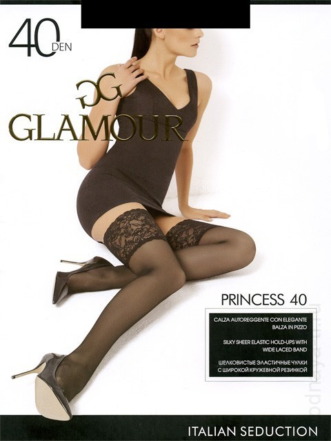 Stockings GLAMOR PRINCESS 40 AUTO