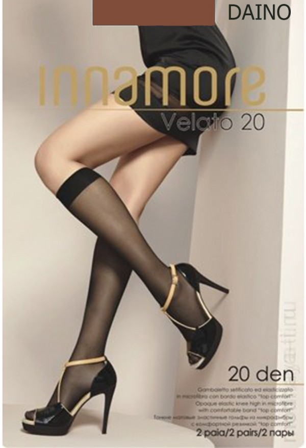 Knee-highs INNAMORE VELATO 20 GAMBALETTO