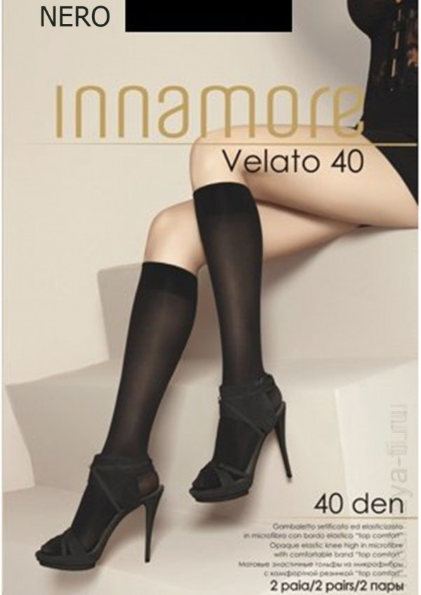 Knee-highs INNAMORE VELATO 40 GAMBALETTO
