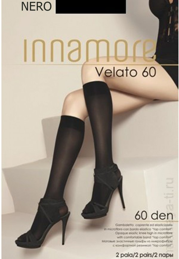 Knee-highs INNAMORE VELATO 60 GAMBALETTO
