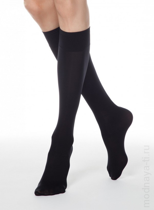 CONTE elegant MICROFIBRA 50 knee-highs