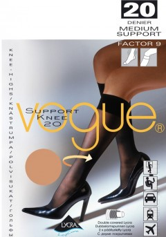 Гольфы VOGUE SUPPORT 20 knee-highs (33400)