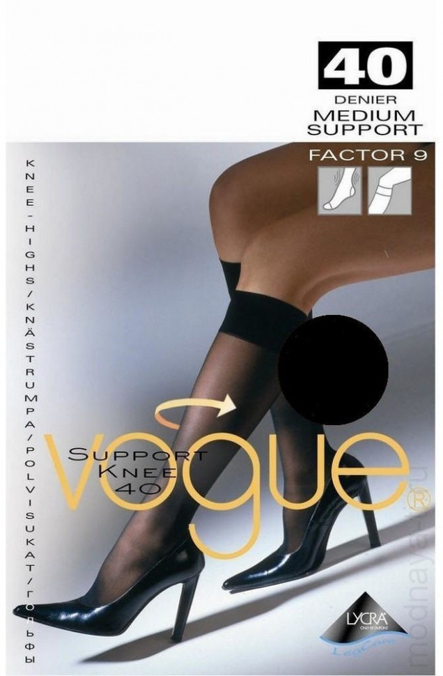 Гольфы VOGUE SUPPORT 40 knee-highs (33800)