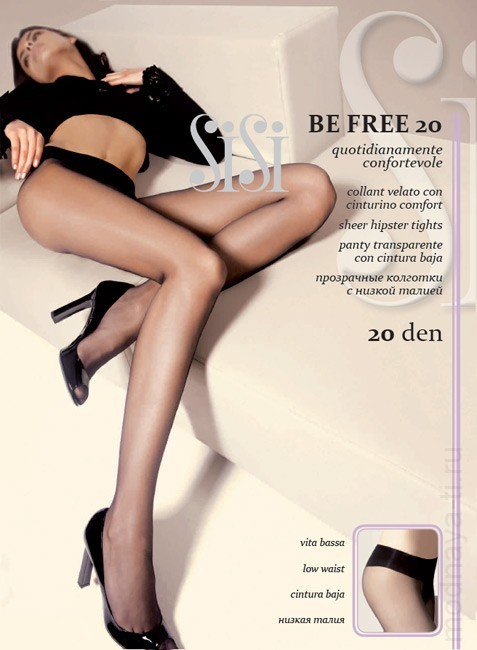 Tights SISI BE FREE 20 VITA BASSA