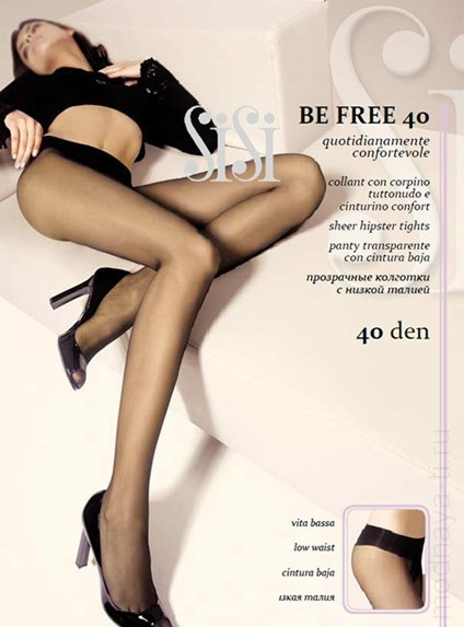 Tights SISI BE FREE 40 VITA BASSA