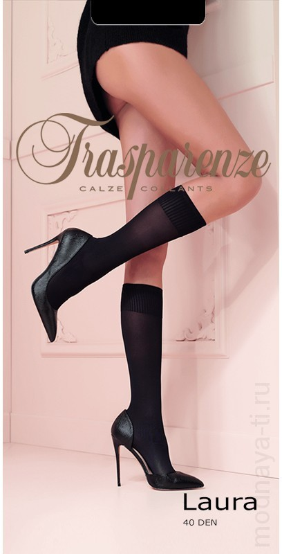 Knee-highs TRASPARENZE LAURA 40 Gambaletto